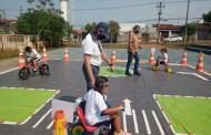 Escola Municipal promove atividade em parceria com a EMDURB em prol da Semana Nacional do Trânsito