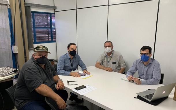 Sagra, Bracell e Usina Ipiranga discutem ações em conjunto para melhorias na Estrada Rural do Rio Verde
