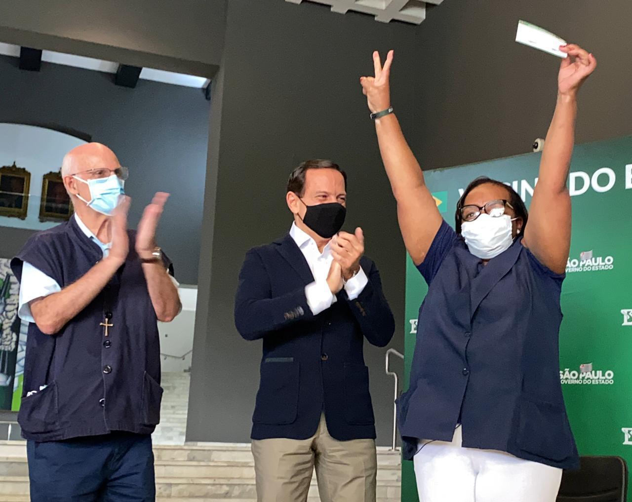 SP ja aplicou mais de 2 milhões de doses de vacinas contra coronavírus