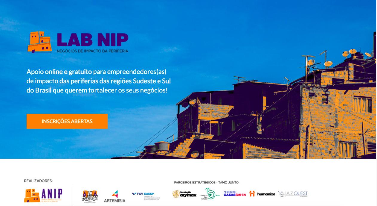 ANIP abre inscrições para edição 2021 de programa de apoio a empreendedores