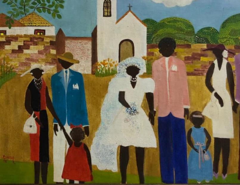 Pinacoteca homenageia a artista Dinda Sanson na 32ª Exmarte
