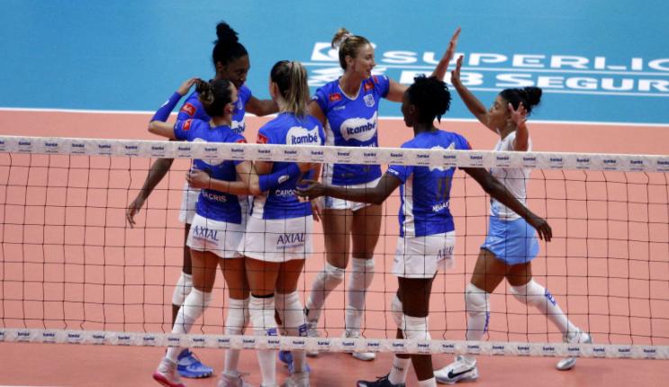Semifinais da Superliga Feminina serão nos dias 26, 28 e 30/3, em Saquarema