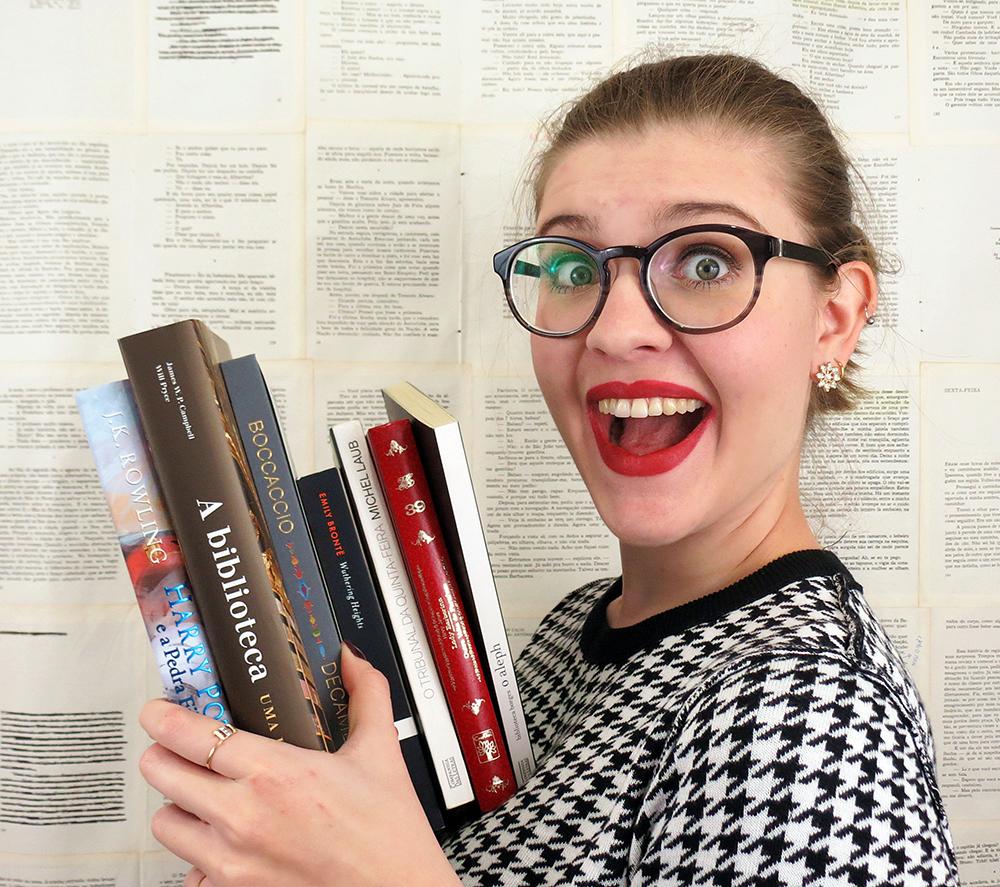 Ser bibliotecária é trabalhar no paraíso, por    Gabriela B. Pedrão