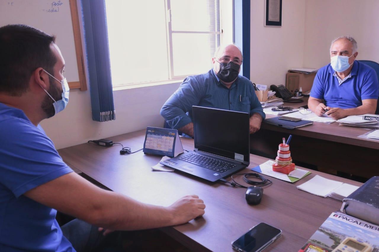 Presidente do DAE e prefeito de Agudos debatem soluções para o rio Batalha