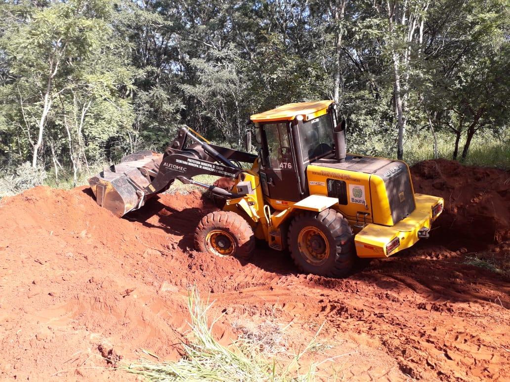 Estradas rurais recebem manutenção