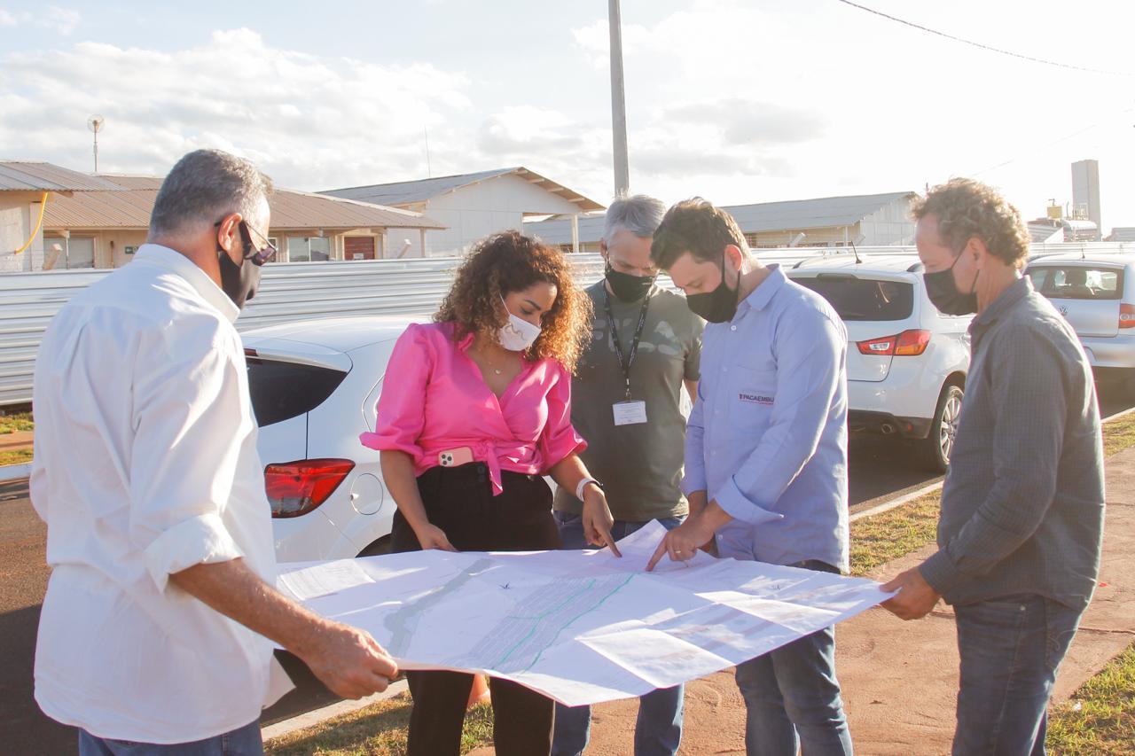 Prefeita Suellen define área para a construção de um moderno centro esportivo