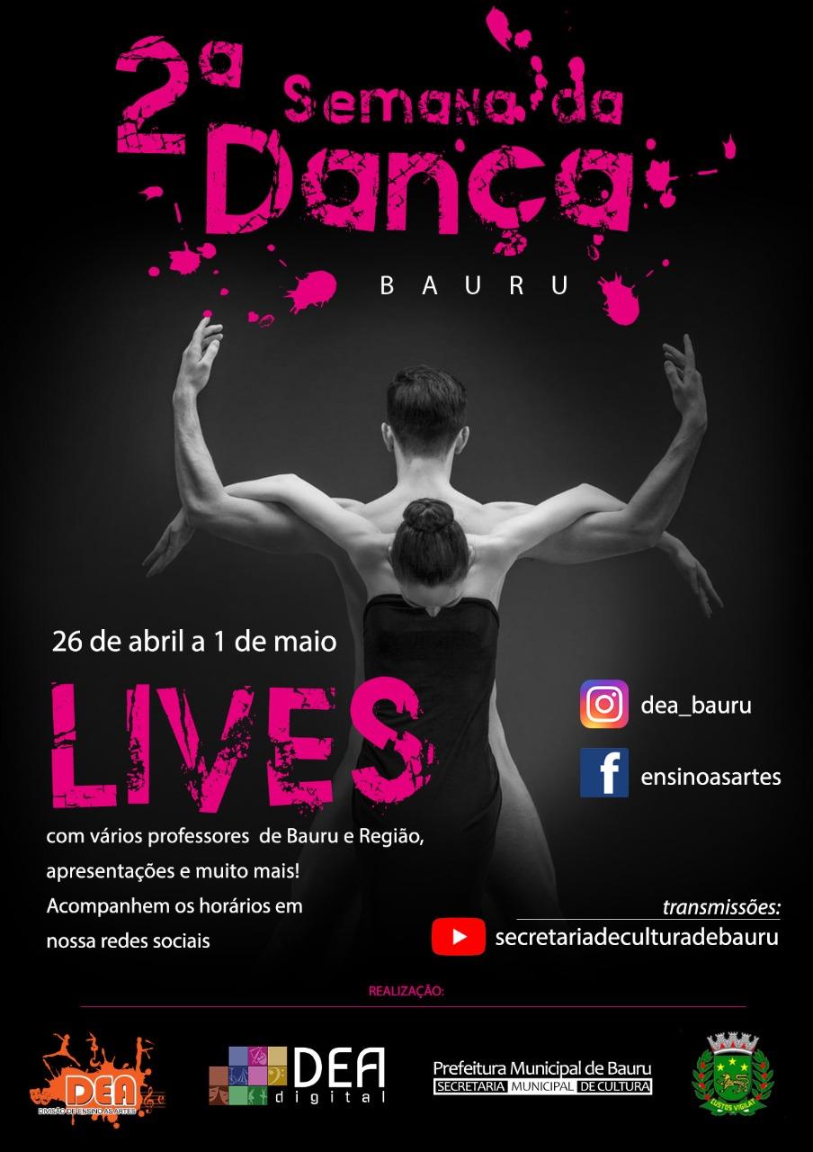 Acompanhe a programação da Semana da Dança 2021