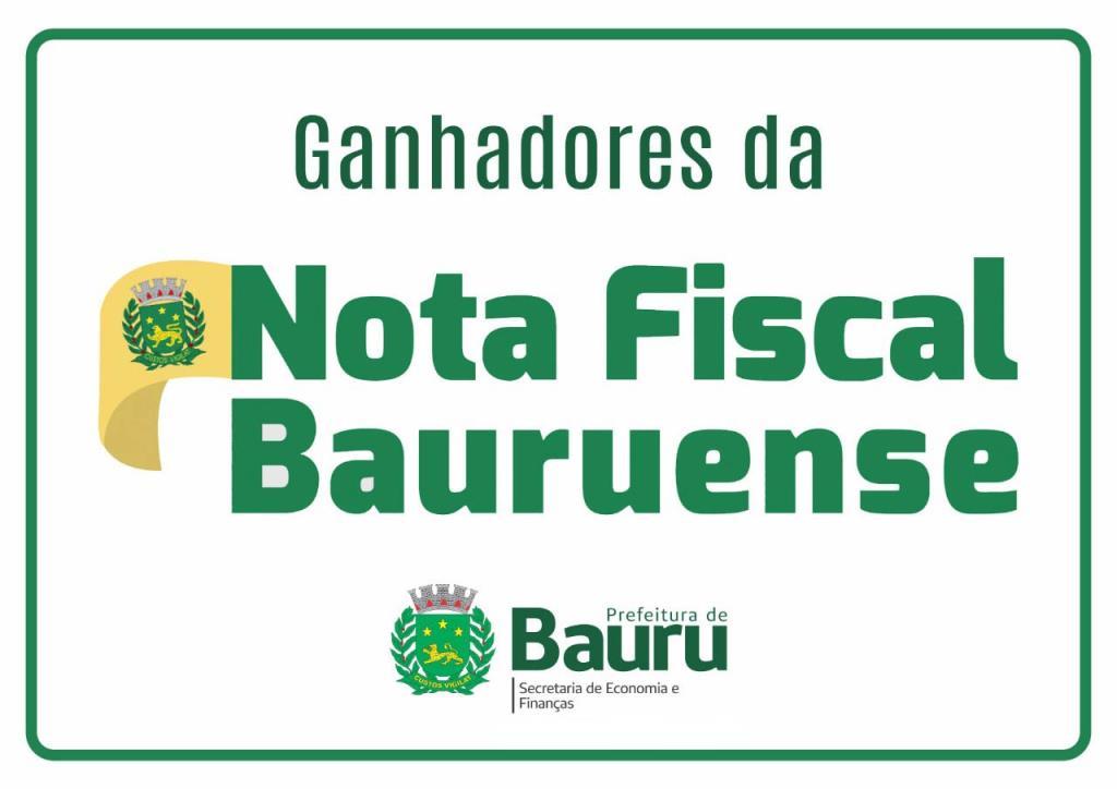 Prefeitura entrega prêmios da Nota Fiscal Bauruense do mês de fevereiro