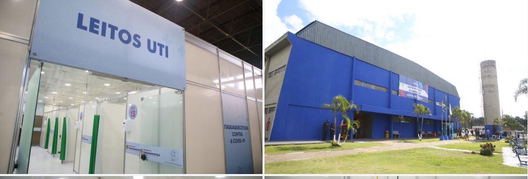 Governo de SP entrega hospital de campanha de Itaquaquecetuba.  Bauru já está funcionando, segundo assessoria de Dória.