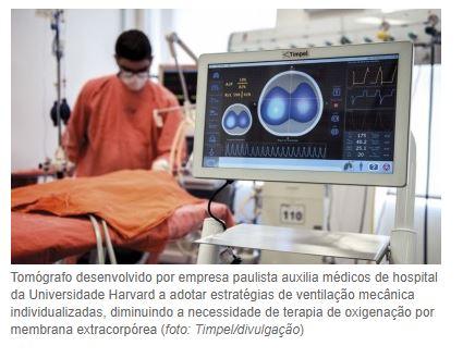 Tecnologia brasileira reduz em 80% a necessidade de pulmão artificial para pacientes internados  com insuficiência respiratória aguda