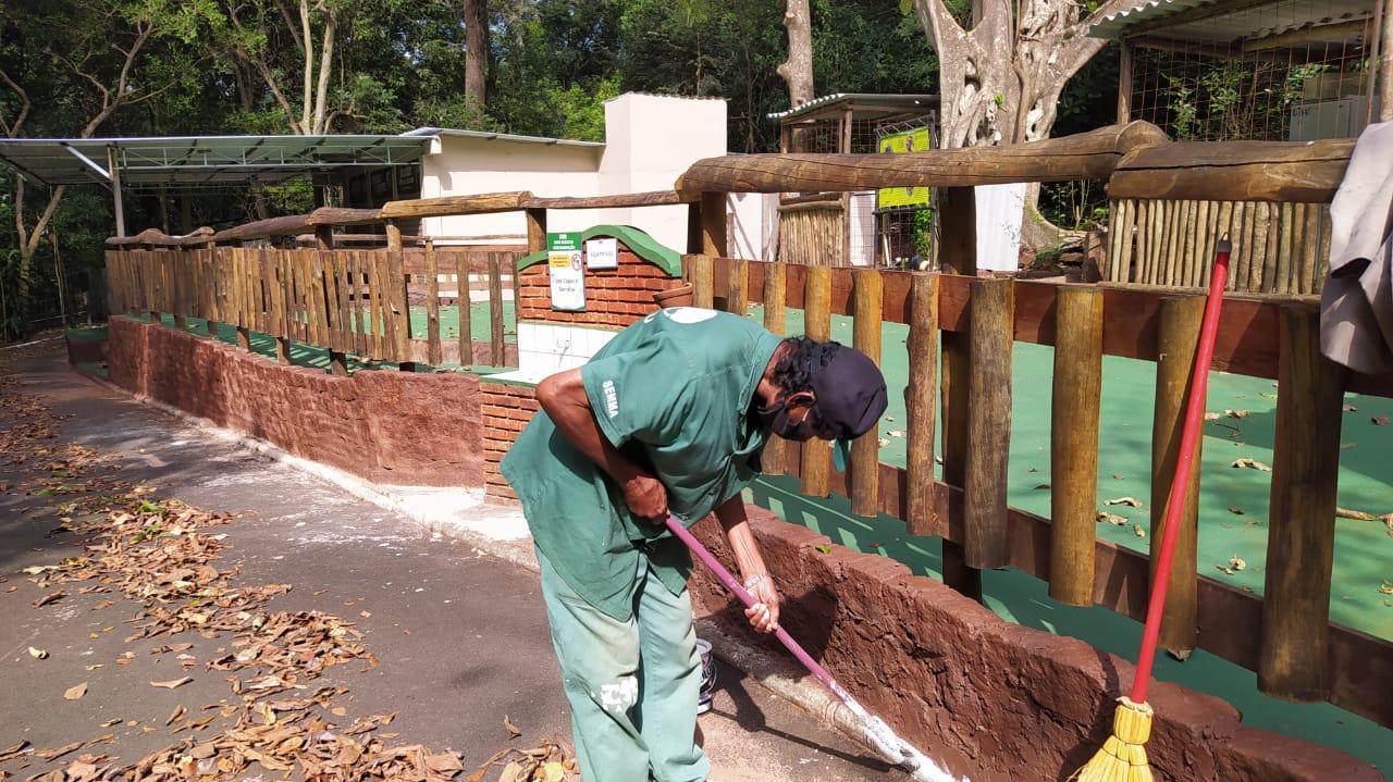 Zoológico de Bauru sempre bem-cuidado para receber o público