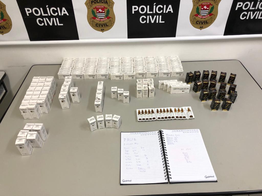 Dise de Jundiaí prende homem por comércio ilegal de anabolizantes