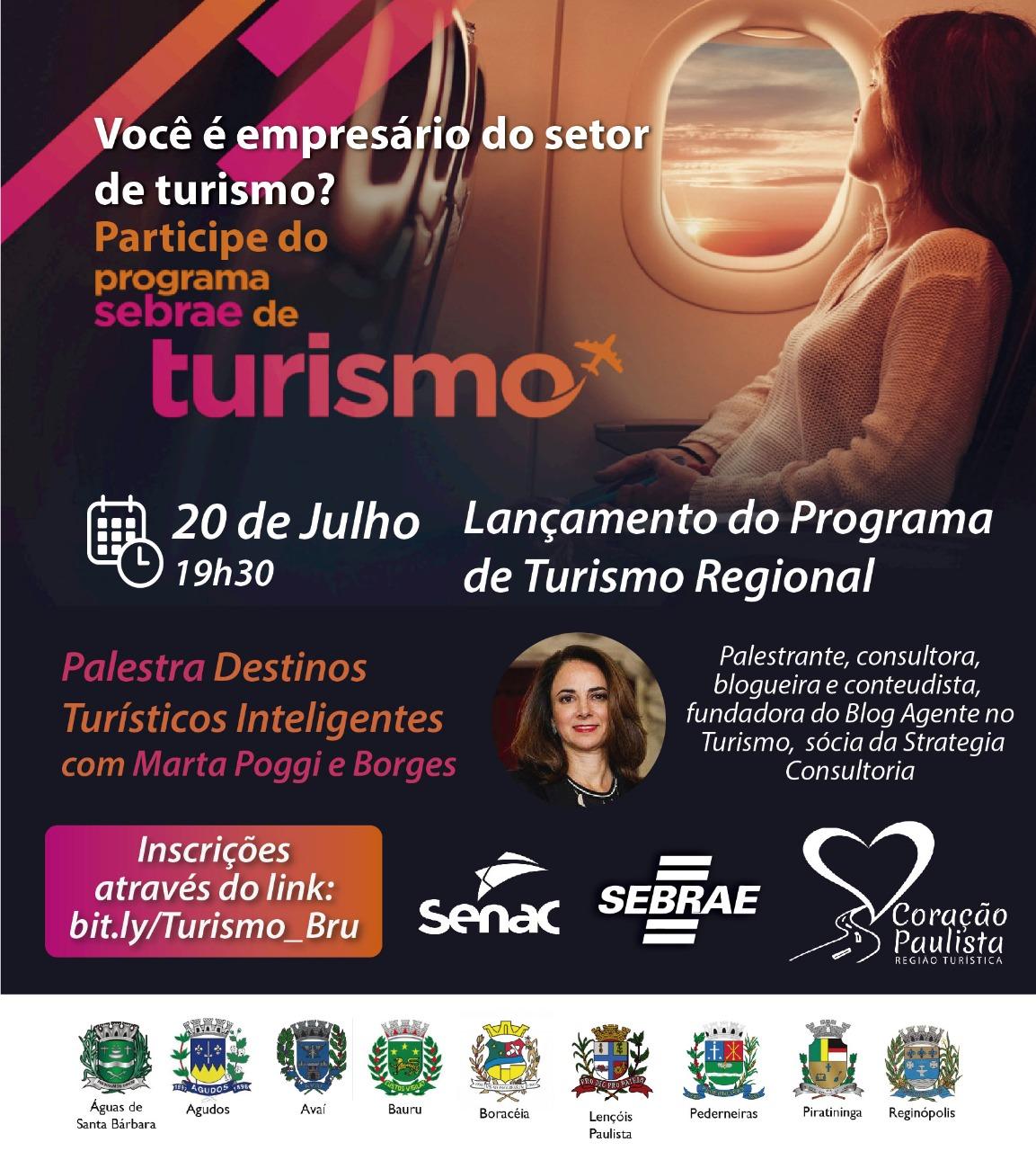 Sedecon firma parceria com o Sebrae para lançamento de programa de capacitação para empreendedores do turismo