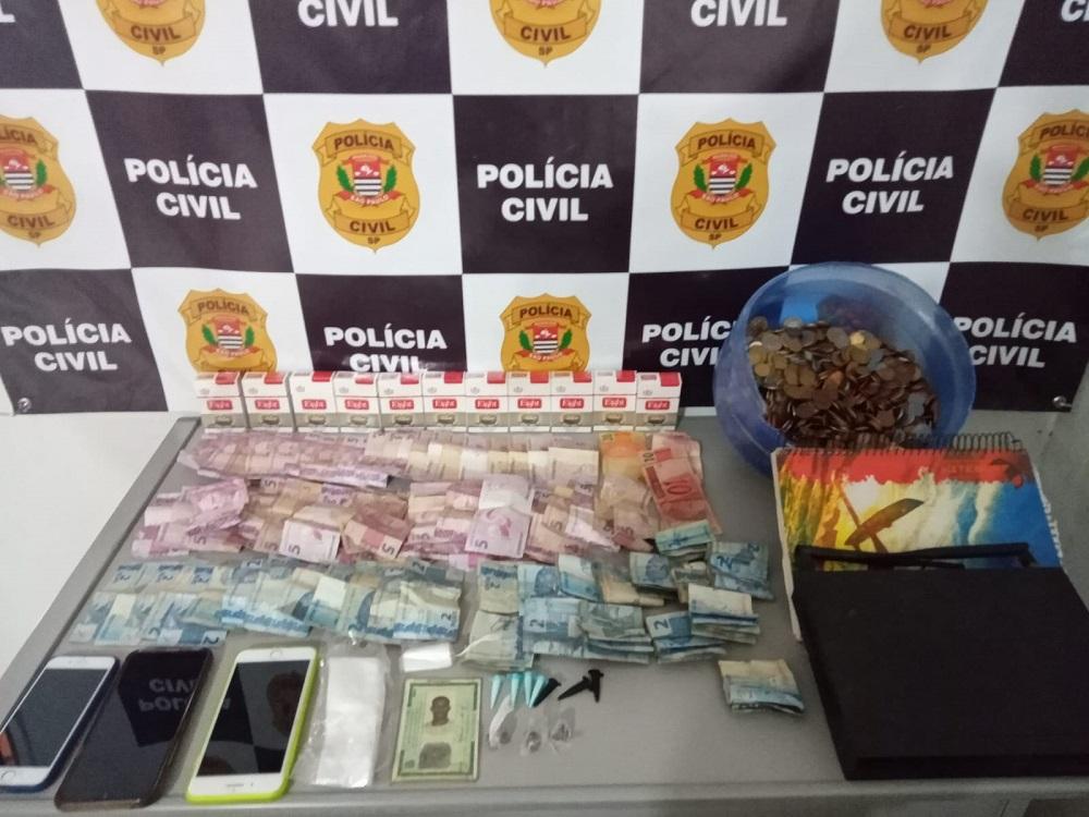 SIG de São Manuel prende homem pelos crimes de tráfico de drogas e descaminho