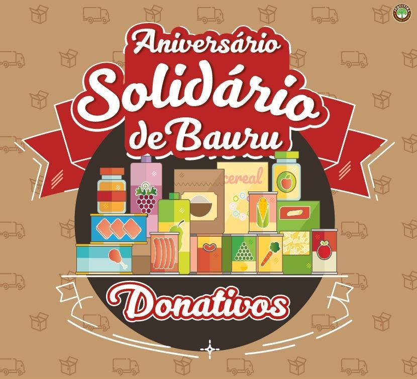 Campanha 'Aniversário Solidário' entra na reta final com a arrecadação de alimentos