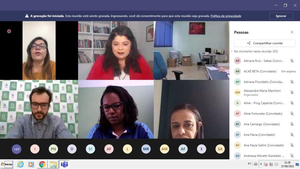 Sebes realiza 'live' em comemoração ao Dia do Psicólogo