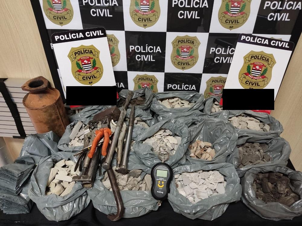 DIG de Lins prende trio por estelionato e associação criminosa