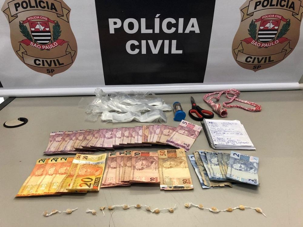 Polícia Civil prende traficante em Agudos