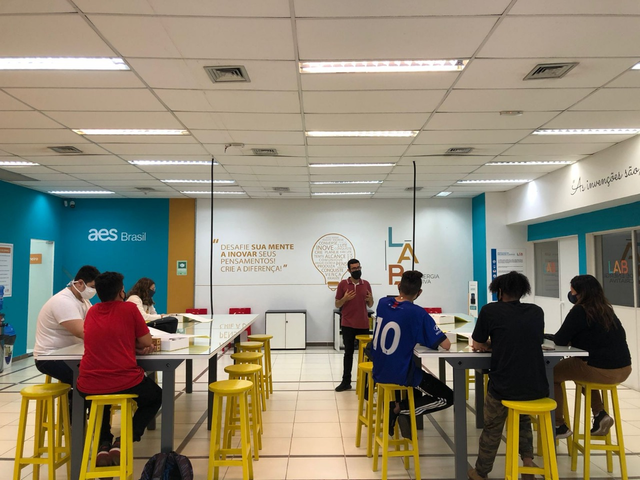 Projeto Lab de Energia Criativa inicia aulas em Bauru