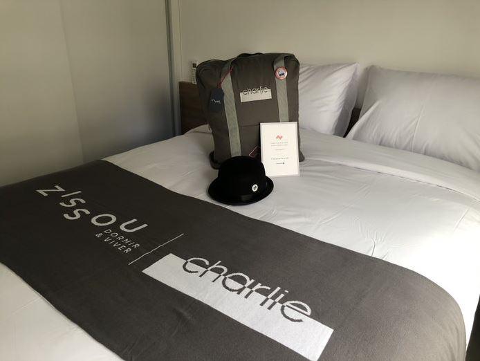 Charlie fecha parceria com a Zissou e oferece experiência de sono completa a seus clientes