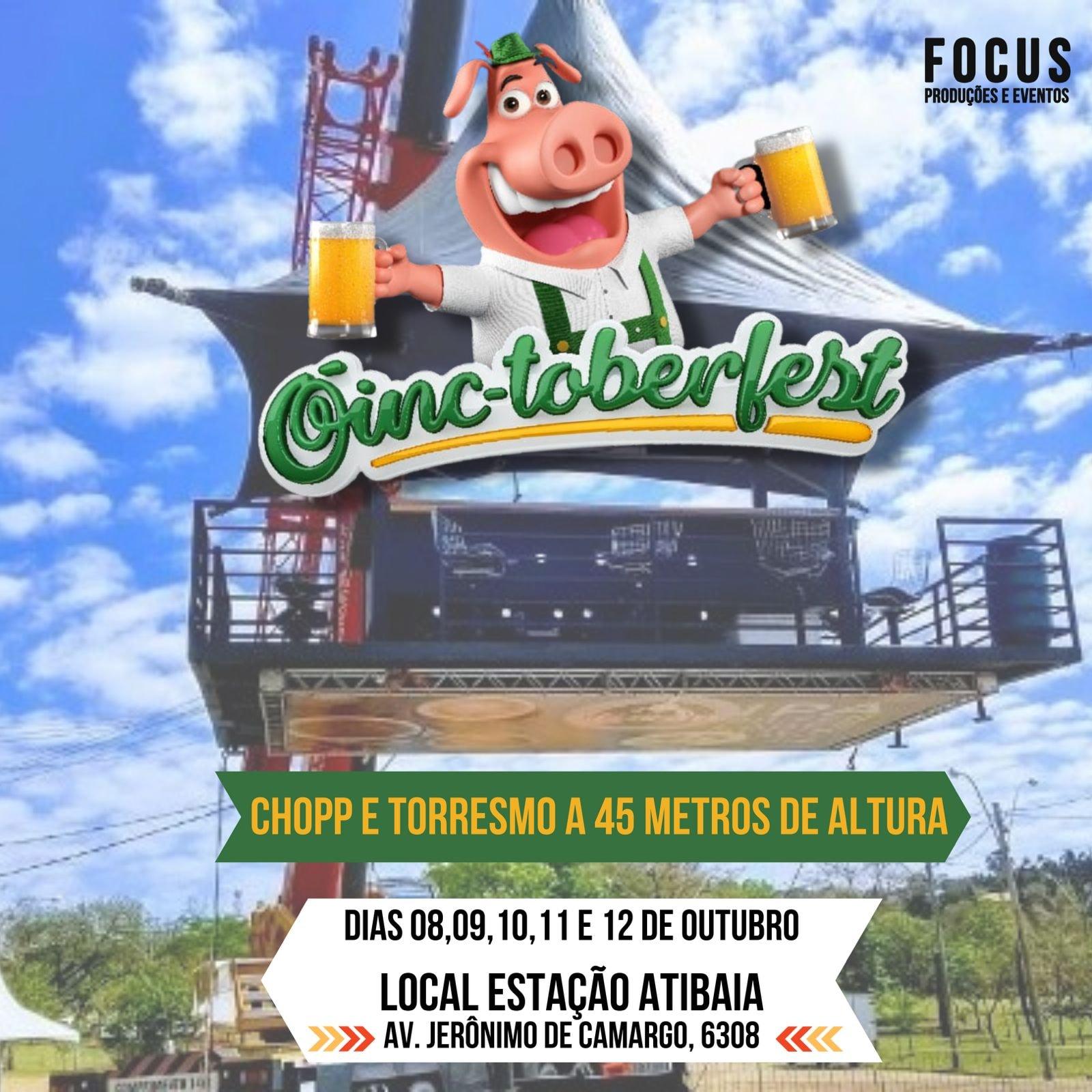 Atibaia recebe a primeira edição do Festival Oinc-toberfest